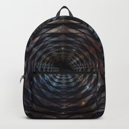 Heptagon space portal - high speed Backpack
