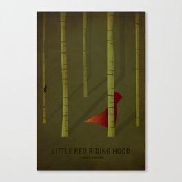 Little Red Ridding Hood Canvas Print