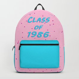 Class of 1986 - Font Backpack