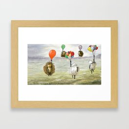 We Haven't Thought This Through Framed Art Print