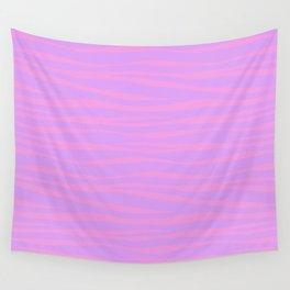 Zebra Print - Lavender Sunset Wall Tapestry
