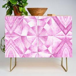 Cobalt Violet Pattern Credenza