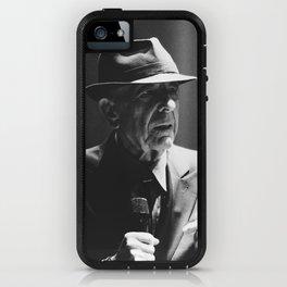 Leonard Cohen concert photo iPhone Case