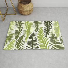Groovy Palm Green Rug