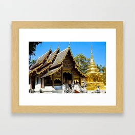 Wat Phra That Doi Suthep Framed Art Print