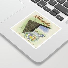 Vintage poster - Sun Valley, Idaho Sticker