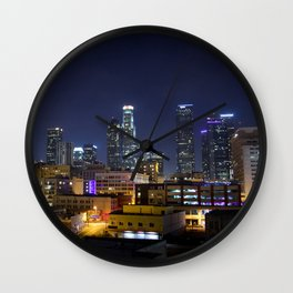 Photography in Downtown. Wall Clock