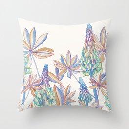 Lupin -Rainbow Throw Pillow