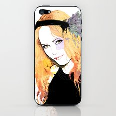 Vanessa paradis iPhone & iPod Skin