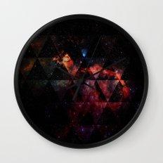 Galactic Cocktail Wall Clock