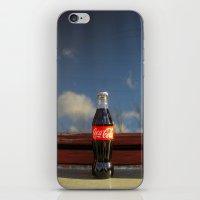 coca cola iPhone & iPod Skins featuring Coca - cola  by Anastasia Bogdanchikova
