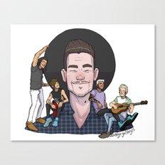 Liam's Boys Canvas Print