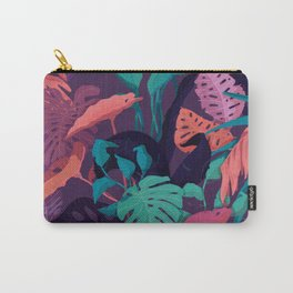 Jungle Colors Carry-All Pouch