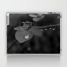Tear Drop Black & White  Laptop & iPad Skin