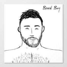 Beard Boy: Andres Canvas Print