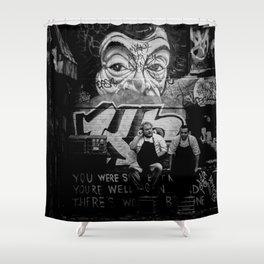 Smoko Shower Curtain
