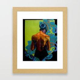 Woman 1 Framed Art Print