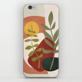 Two Abstract Branches iPhone Skin