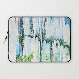 12,000pixel-500dpi - Alice Bailly - ountain in a garden in Rome - Digital Remastered Edition Laptop Sleeve