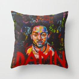 DAMN, Kendrick Lamar Throw Pillow