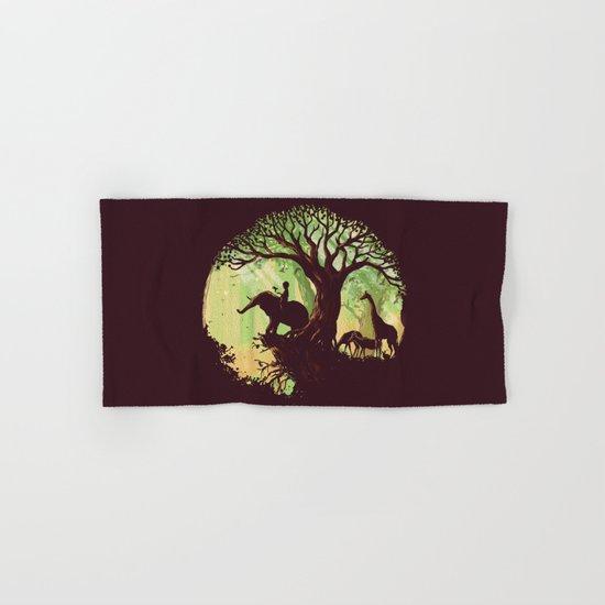 The jungle says hello Hand & Bath Towel