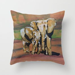 Love of a child Throw Pillow