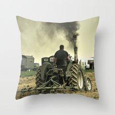 Marshall Clag Throw Pillow