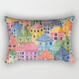 Summer City Rectangular Pillow