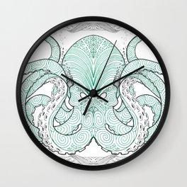 Ko te pou (The Octopus) Wall Clock