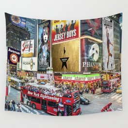 Times Square II Wall Tapestry