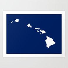 HAWAII OCEAN Art Print