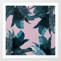 Tropical Palm Print #2 by tamsinlucie