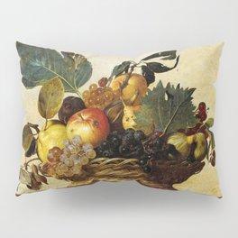 "Michelangelo Merisi da Caravaggio ""Basket of Fruit"" Pillow Sham"