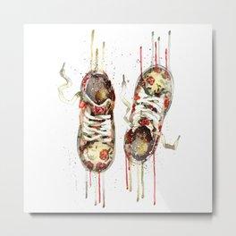 Women's sneakers Metal Print