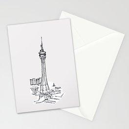 Macau Tower Stationery Cards