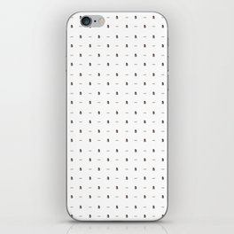 Potatoes and Molasses iPhone Skin