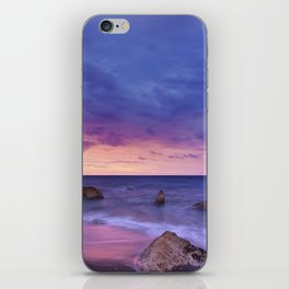 Ocean Beach Dusk Sunset Photography iPhone Skin