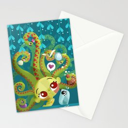 MEDUSA´S MORNING ROUTINE Stationery Cards