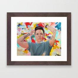 Do you see what I see? Framed Art Print