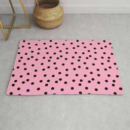 Simply smashing - pink polkadots Rug