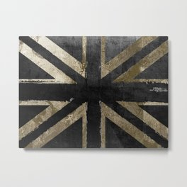 Britain Fashion Flag Metal Print