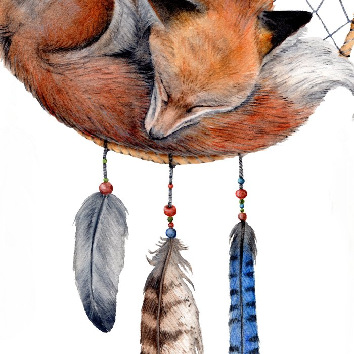 Fox Dreamcatcher Leggings
