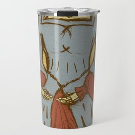 Queen of Heads on Parchment Travel Mug