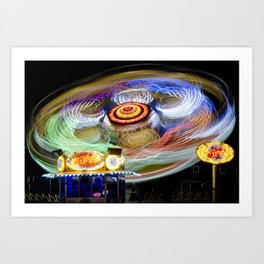 Spinning III - Take Off Art Print
