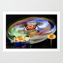 Spinning III - Take Off Art Print