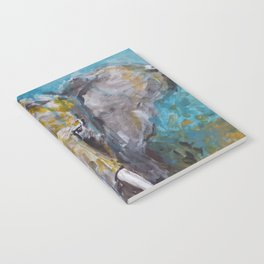 African Elephant Bull Notebook