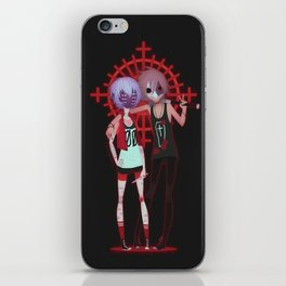 Shinji's Defence Squad iPhone Skin