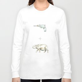 Drilled Long Sleeve T-shirt