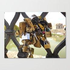 Loved Locked Canvas Print