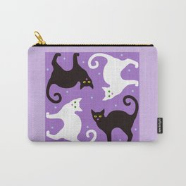 Blueberry Cats Carry-All Pouch